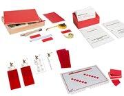Mess-Set 1: Größe: Längen-Messung m. Kartensatz (Klassensatz für 12 Kinder)