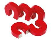 Satz mit 5 Hufeisen-Magnete
