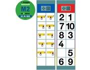 Flocards Set M2 Zahlenraum bis 10