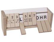 Klappe auf! Spaßwortschatz 22 cm, Familienspiel aus Holz
