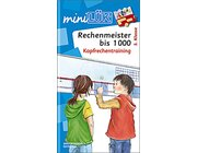 miniLÜK Rechenmeister bis 1000, 3.-4. Klasse