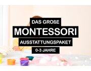 Montessori Grundausstattung für Kinder von 0-3 Jahren