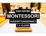 Montessori Grundausstattung für eine jahrgangsgemischte 1. bis 4. Klasse
