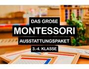 Montessori Grundausstattung für eine jahrgangsgemischte 3. bis 4. Klasse