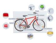 Das verkehrssichere Fahrrad, magnetische Wort- und Bildkarten, ab 5 Jahre