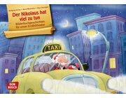 Kamishibai Bildkartenset - Der Nikolaus hat viel zu tun, 3-6 Jahre