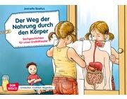 Kamishibai Bildkartenset - Der Weg der Nahrung durch den Körper, 3 bis 8 Jahre