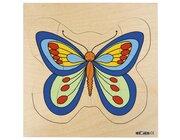 Wachstumspuzzles - Schmetterling
