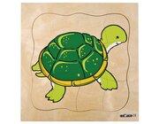Wachstumspuzzles - Schildkröte