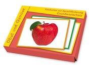 Fotokarten zur Sprachförderung: Grundwortschatz - Obst und Gemüse, ab 1 Jahr