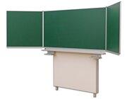 Gestell-Klappschiebetafel, feststehend (grün, 200x100cm)