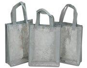 Set 3 Kunststofftaschen, Hochformat A4