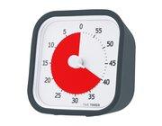 Time Timer MOD 8x8 cm, inkl. Überzug in grau