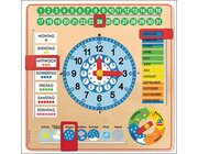 Kalender-Uhr, 6-9 Jahre