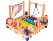 Kinder-Musikcenter, Spielstation aus Holz, ab 3 Jahre