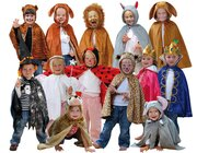 Set mit 13 Kostümen, Universalgröße, 3-8 Jahre