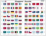 Larsen Lernpuzzle Flaggen