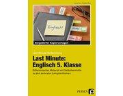 Last Minute: Englisch 5. Klasse, Kopiervorlagen