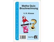 Mathe-Quiz: Bruchrechnung, Kartenspiel, 5.-6. Klasse