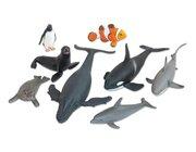 Tiere - Meerestiere, 8-tlg. Set