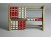 Rechenrahmen 100er 5/5 rot/weiß ReWOOD System Kühnel