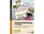 Rechtschreibtraining, Buch inkl. CD-ROM, 5.-6. Klasse