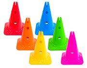 Spielkegel-Regenbogen-Set, 6 Stück