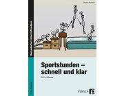 Sportstunden - schnell und klar, Buch, 3.-4. Klasse