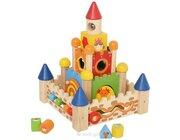 Stapelburg, Holzspielzeug, ab 3 Jahre