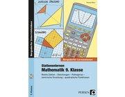Stationenlernen Mathematik, Buch inkl. CD, 9. Klasse