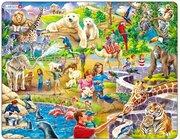 Larsen Lernpuzzle Im Zoo