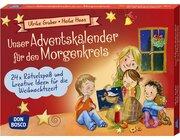 Unser Adventskalender für den Morgenkreis, Kartensatz, 3-6 Jahre