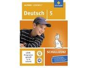 Alfons Lernwelt Deutsch 5 Schullizenz