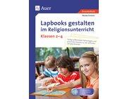 Lapbooks gestalten im Religionsunterricht, Buch ink. CD, 2.-4. Klasse