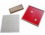Pythagorasbrett mit separater Kontrolltafel Montessori