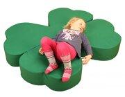 Das kleine Glück, Liegepolster grün, 2000 x 1200 x 150 mm