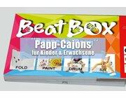 Papp-Cajon Kids - BEATBOX Pappe-la-Papp aus Karton, ab 5 Jahre