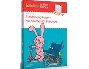 bambinoLÜK Set Elefant und Hase - die allerbesten Freunde, 2-4 Jahre