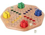 Big Ludo 35x35x6 cm, Gesellschaftsspiel, ab 4 Jahre