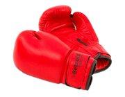 Profi-Boxhandschuhe aus Leder, 6 Unzen, 8-14 Jahre