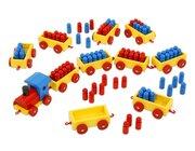 Ri-Ra-Rechenzug, 100er, mit 50 roten und 50 blauen Püppchen, 2.-4. Klasse