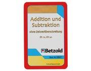 Addition/Subtraktion bis 20 ohne Zehnerüberschreitung, Kartensatz, 6-8 Jahre