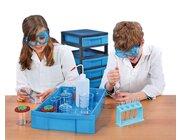 Fahrbares Experimentier-Labor, Materialwagen mit 249 Teilen, 6-12 Jahre
