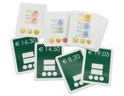Geldbeträge darstellen Set 2, 25 Auftragskarten in Kunststoffbox, 9-12 Jahre