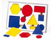 Geometrische Formen, Satz mit 60 Teilen, ab 6 Jahre