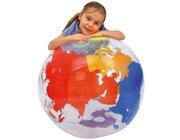 Weltkugel (Globus) zum Aufblasen und Selbstbeschriften, 68 cm
