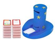 Magischer Zylinder und 10 Karten-Sets zum Rechnen, 1. Klasse