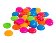 Beutel mit 250 Muggelsteinen, Ø 20 mm, bunte Mischung, 3-10 Jahre