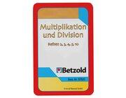 Multiplikation/Division, Kartensatz zum Magischen Zylinder, 7-9 Jahre