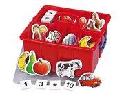 Rechnen mit Bildern in der Kunststoffbox, 196 magnetische Teile, 5-7 Jahre